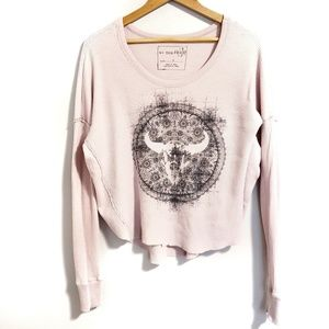 Free People Bull Skull Thriller Thermal Small